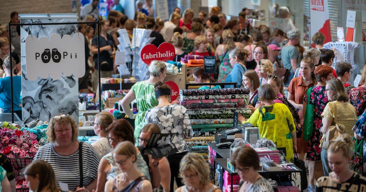 Ommel-festivaali kerää jälleen ompeluharrastajat ja alan ammattilaiset Espooseen