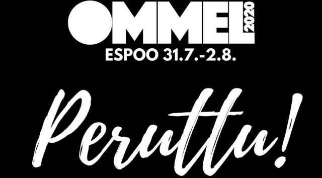 Ommel 2020 festival will be cancelled