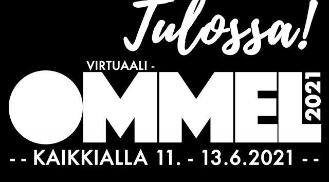 Virtuaali-Ommel tulee 11.-13.6.2021